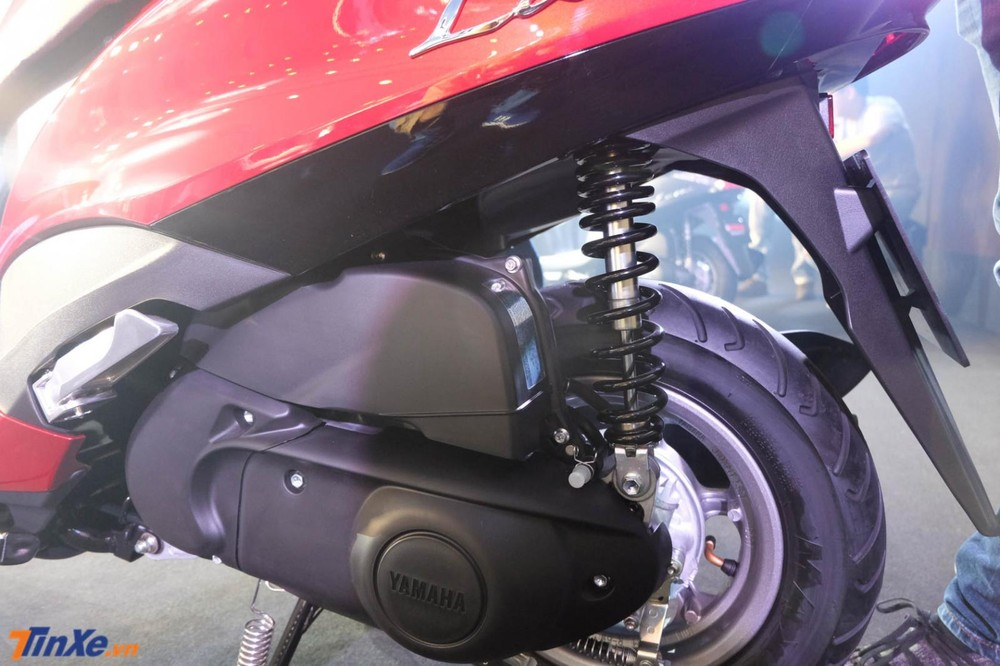 Động cơ Blue Core 125 của Yamaha Latte