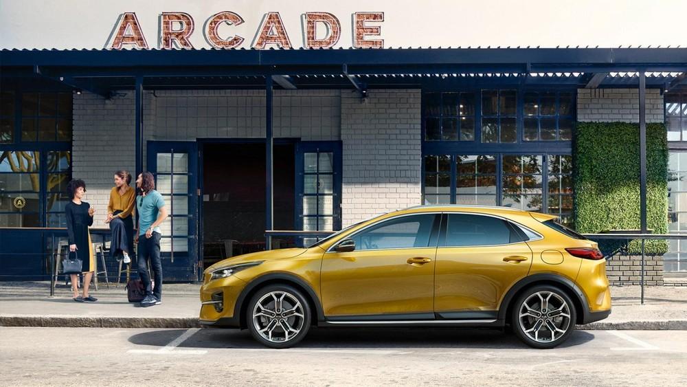 Kia XCeed 2020 sở hữu kích thước nằm giữa hatchback 5 cửa Ceed và SUV cỡ C Sportage