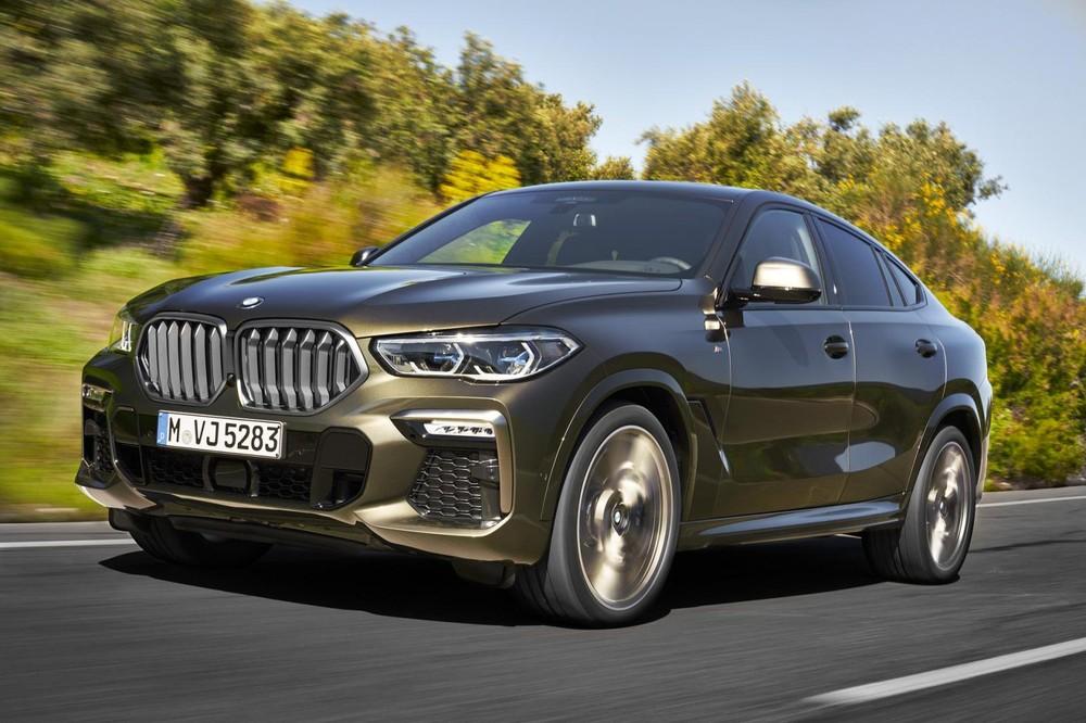 BMW X6 2020 ra mắt trước thềm triển lãm Ô tô Frankfurt 2019