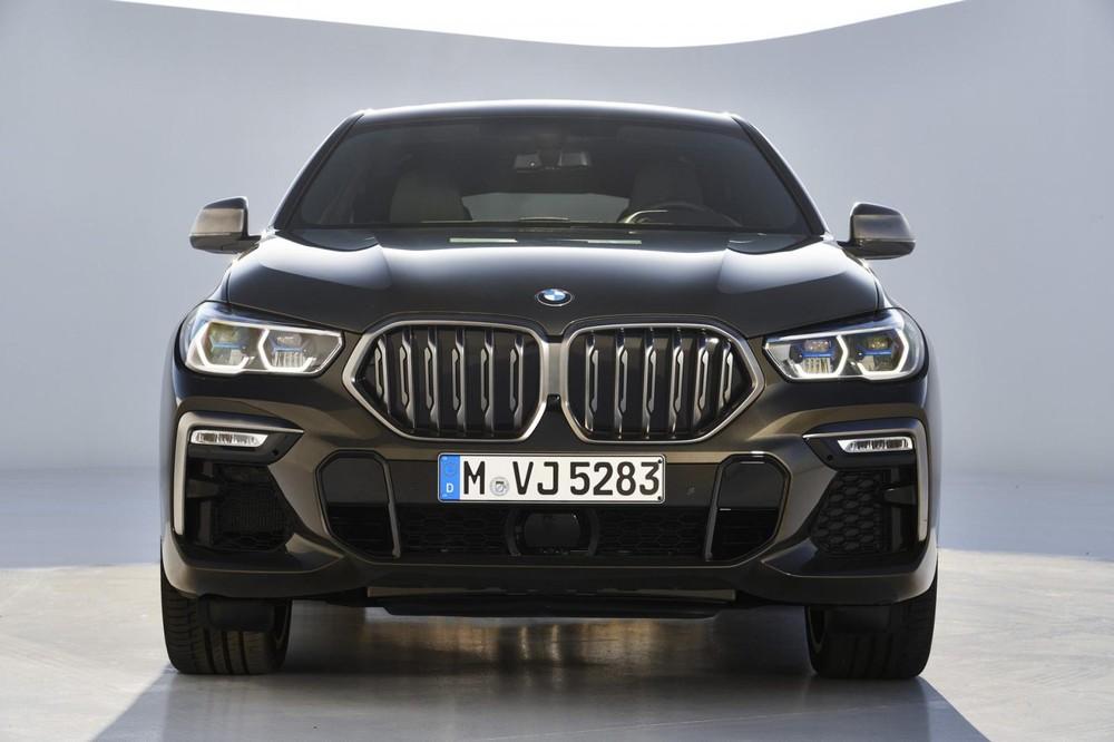 Cận cảnh thiết kế đầu xe của BMW X6 2020