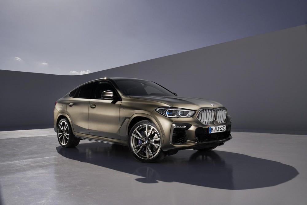 BMW X6 2020 có kích thước lớn hơn phiên bản cũ