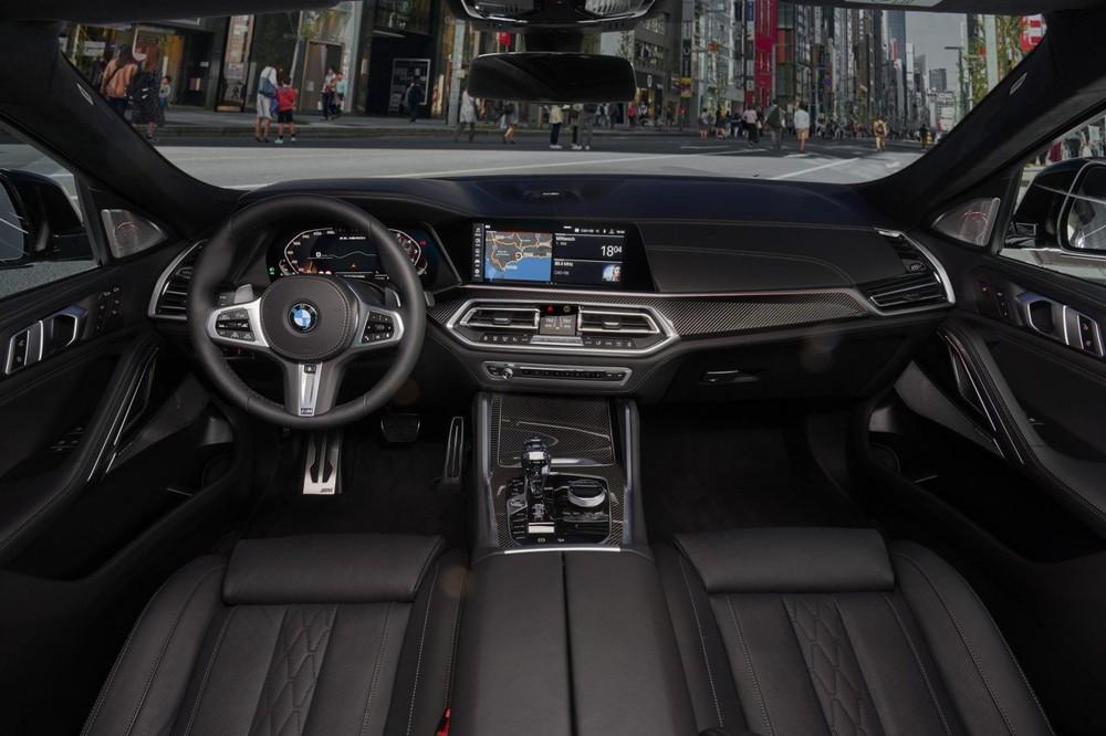 Nội thất bên trong BMW X6 thế hệ mới
