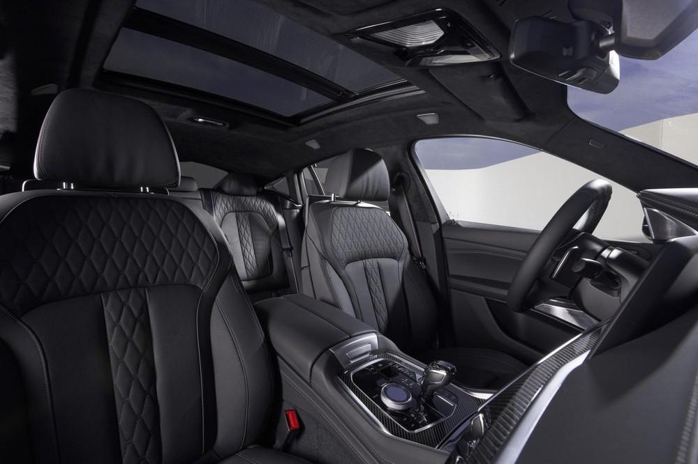 Hàng ghế trước của BMW X6 2020