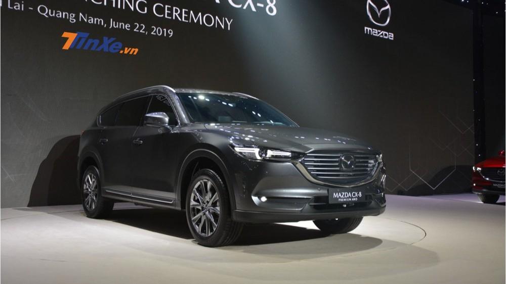 Giá xe Mazda CX-8 2019 có giá khởi điểm ở mức 1,149 tỷ đồng
