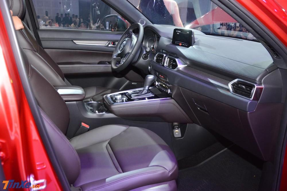 Nội thất xe Mazda CX-8 2019