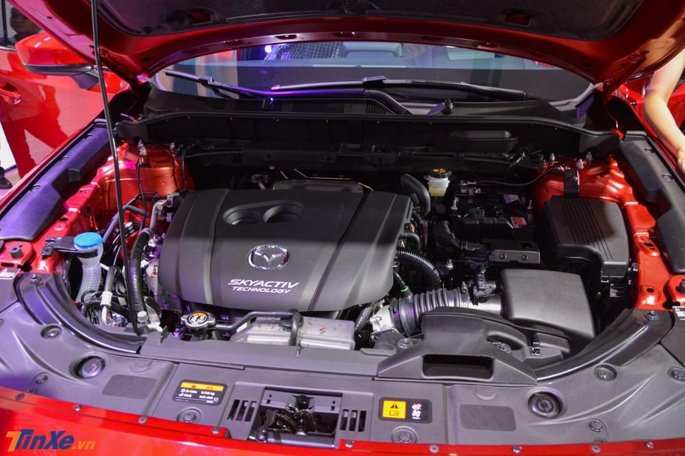 Khối động cơ 2.5L trên Mazda CX-8