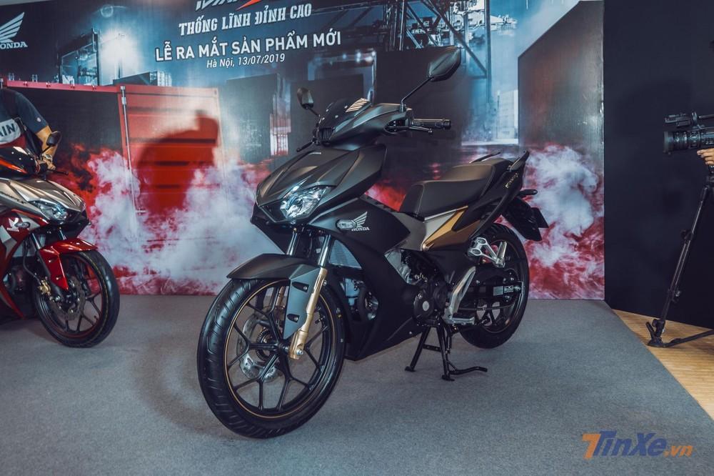 Honda Winner X sở hữu thiết kế hoàn toàn mới