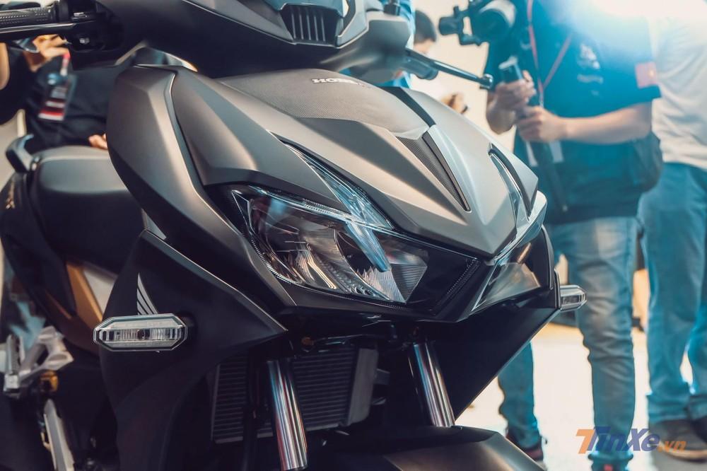 Honda Winner X sử dụng hệ thống chiếu sáng LED