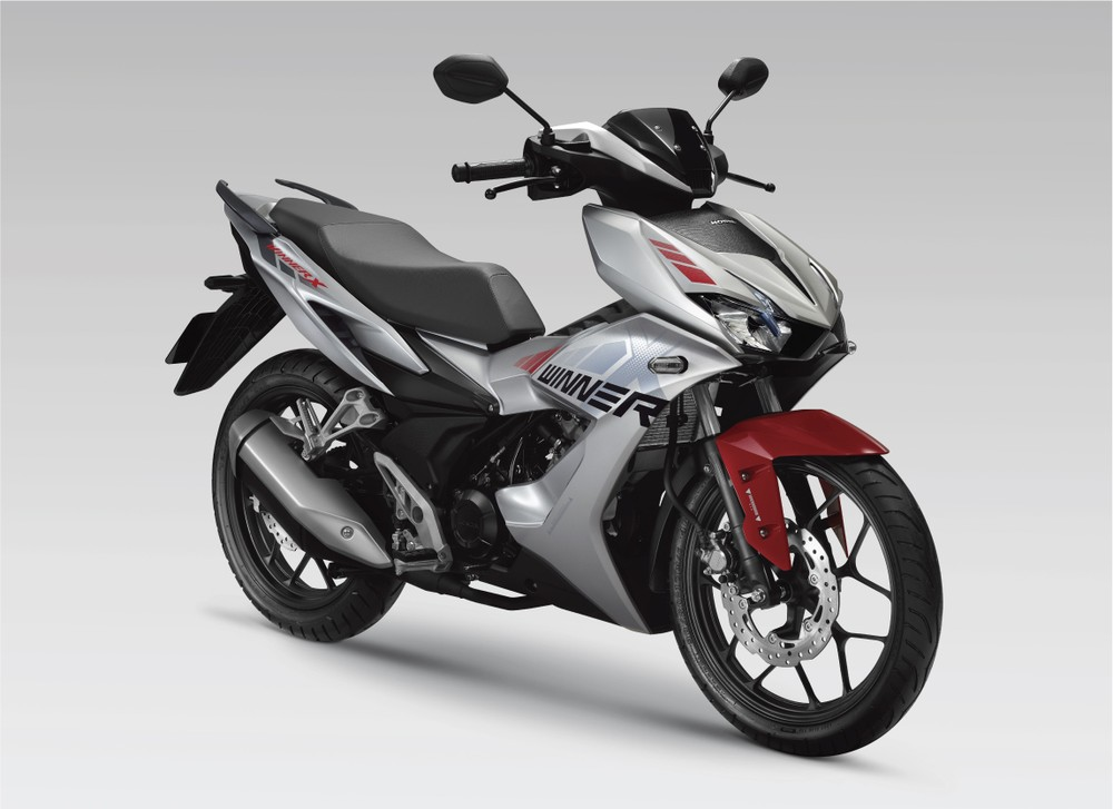 Honda Winner X Bạc Đỏ Đen