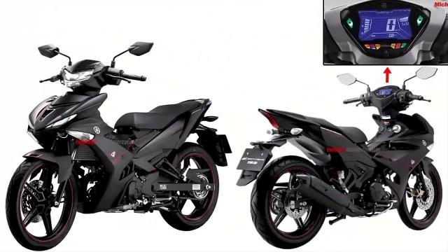 Những hình ảnh được cho là mẫu xe mới Yamaha Exciter 155 VVA 2020