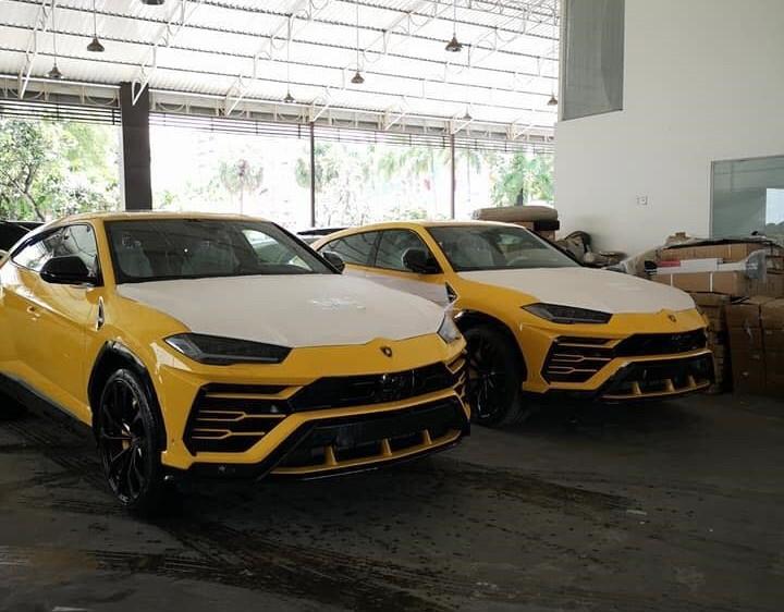 Lamborghini Urus màu vàng có khoảng 5 chiếc tại Campuchia