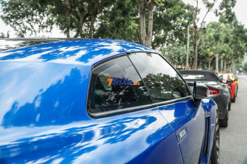 Gói độ Alpha 7 của hãng AMS Performance giúp cho chiếc Nissan GT-R R35 của doanh nhân Bình Phước có sức mạnh tăng 220 mã lực