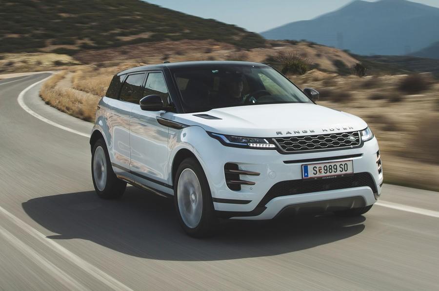 Mẫu SUV hạng sang Range Rover Evoque cũng lọt vào danh sách