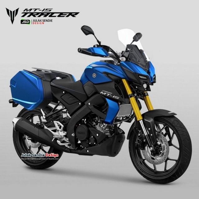 Thiết kế dự kiến Yamaha MT-15 Tracer