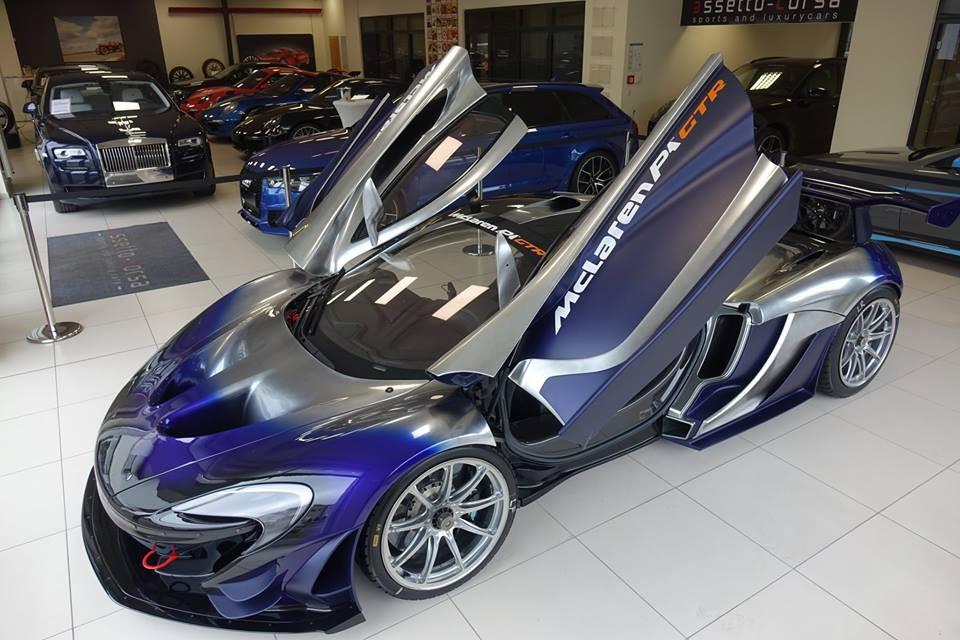 Chỉ có 35 chiếc McLaren P1 GTR được sản xuất trên thế giới