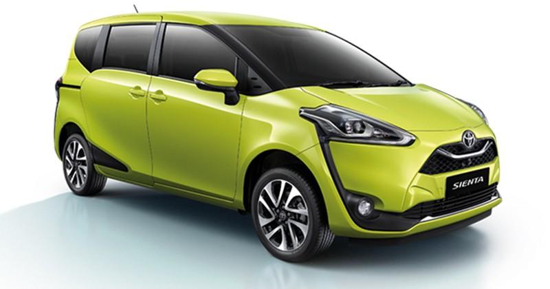 Toyota Sienta 2019 được bổ sung lưới tản nhiệt mới