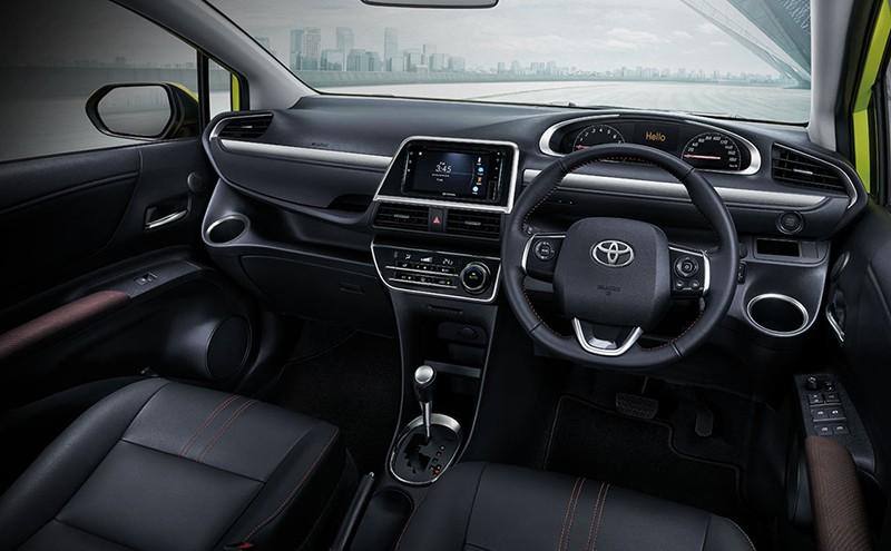 Vô lăng đa chức năng của Toyota Sienta 2019