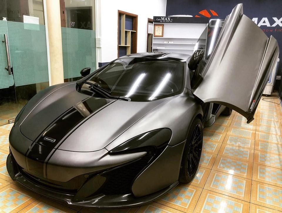 McLaren 650S Spider được trang bị động cơ V8