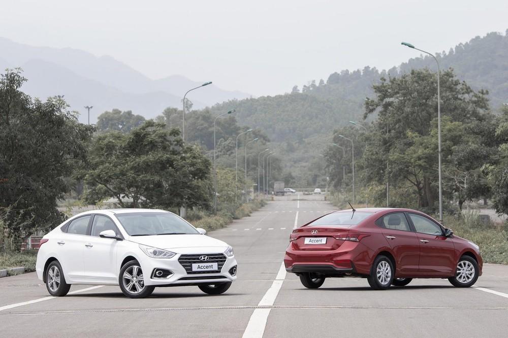 Doanh số bán hàng của Hyundai Accent trong tháng 7 tăng trưởng gần 200 xe, trở thành cái tên bán chạy thứ 2 thị trường Việt, chỉ sau Toyota Vios
