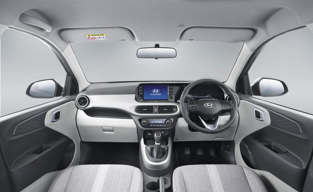 Nội thất bên trong Hyundai Grand i10 2019