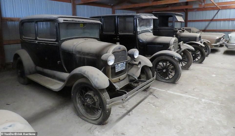 Những chiếc xe cổ ra đời trong thập niên 20 và 30 của thế kỷ trước