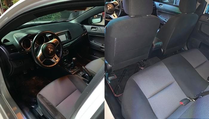Nội thất Mitsubishi Lancer EVO Final Edition độc nhất Việt Nam