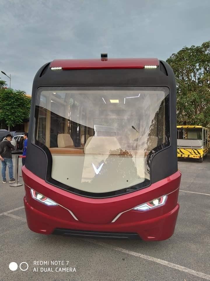 Mẫu xe này nhiều khả năng sẽ không phải là sản phẩm xe bus điện phục vụ giao thông công cộng
