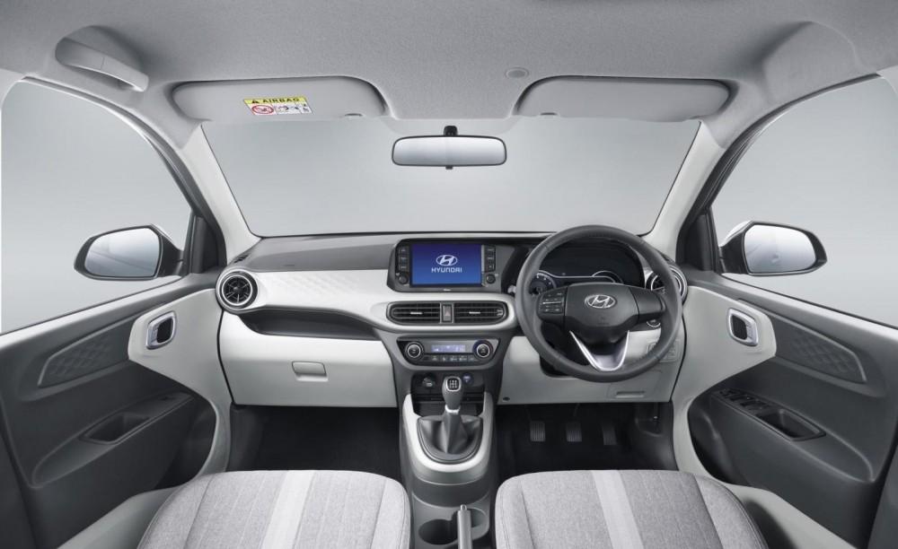 Nội thất bên trong Hyundai Grand i10 2019 phiên bản hatchback