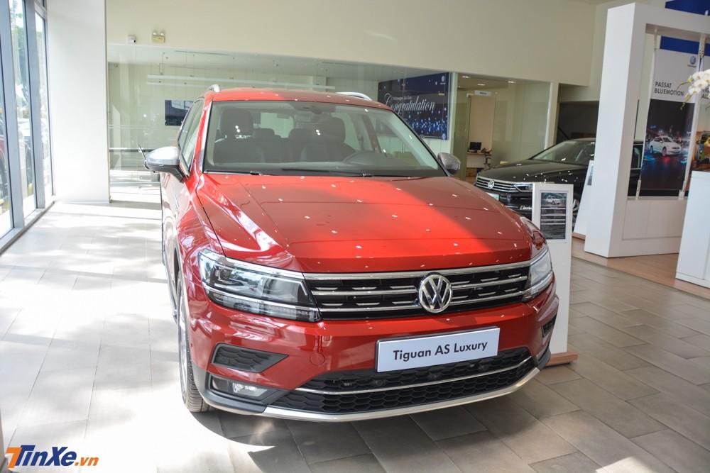 Volkswagen Tiguan Allspace bản cao cấp nhất đã có mặt tại Việt Nam để cạnh tranh cùng Mercedes-Benz GLC