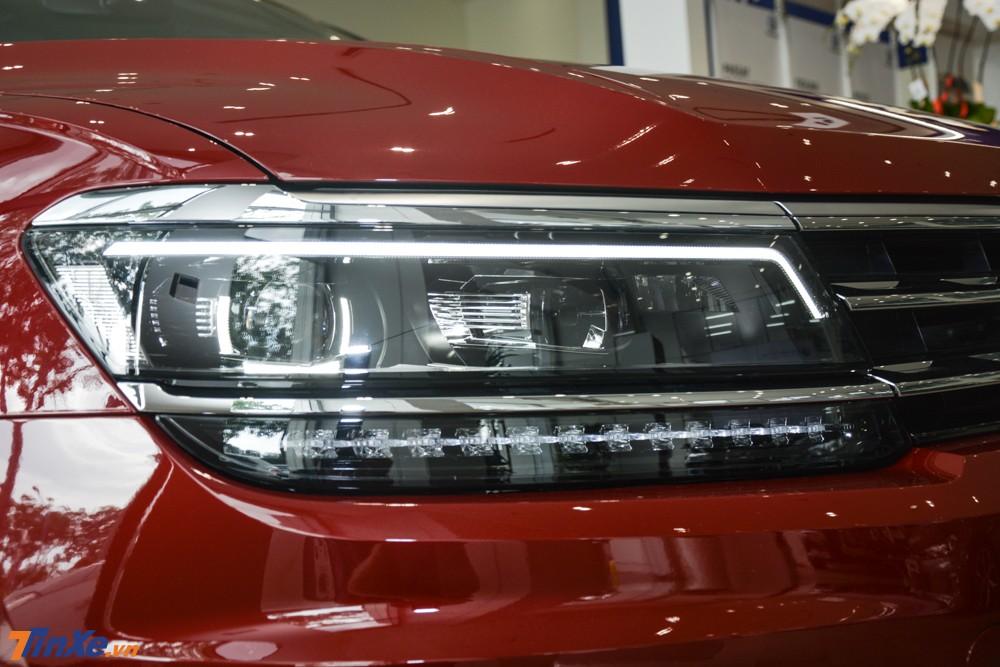 Xe sử dụng đèn pha LED