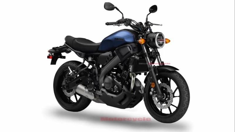 Bản phác thảo về mẫu xeXSR155 hoàn toàn mới của Yamaha