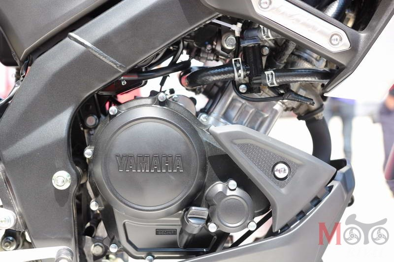 Xe được trang bị khối động cơ 155 quen thuộc