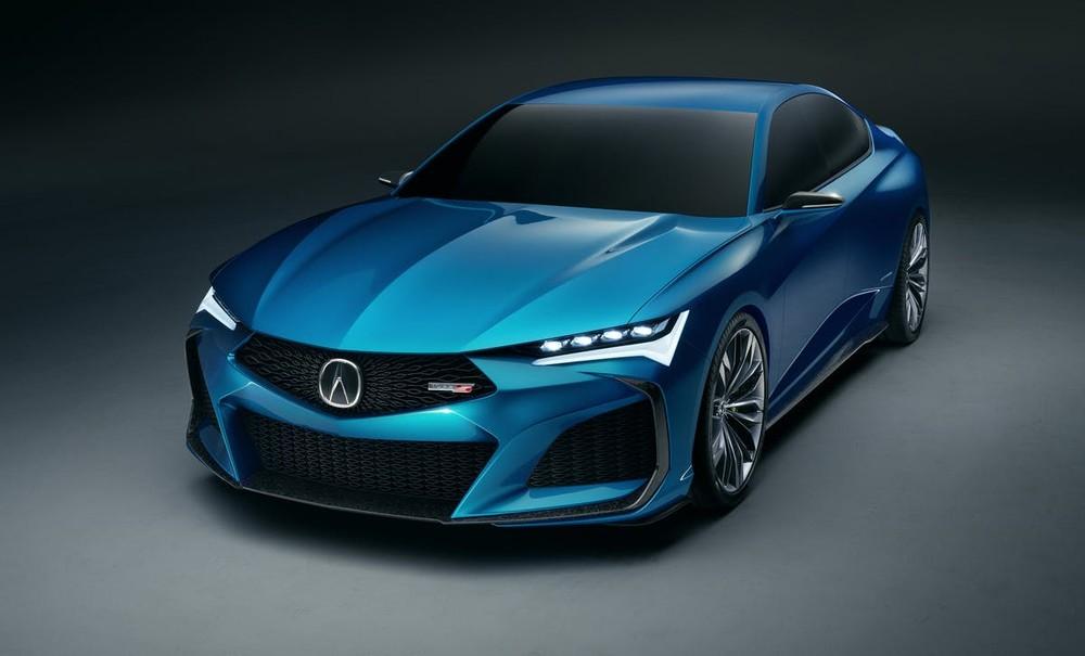 Acura Type S Concept sở hữu một dáng vẻ thể thao, dữ dằn với những đường gân nổi sắc nét