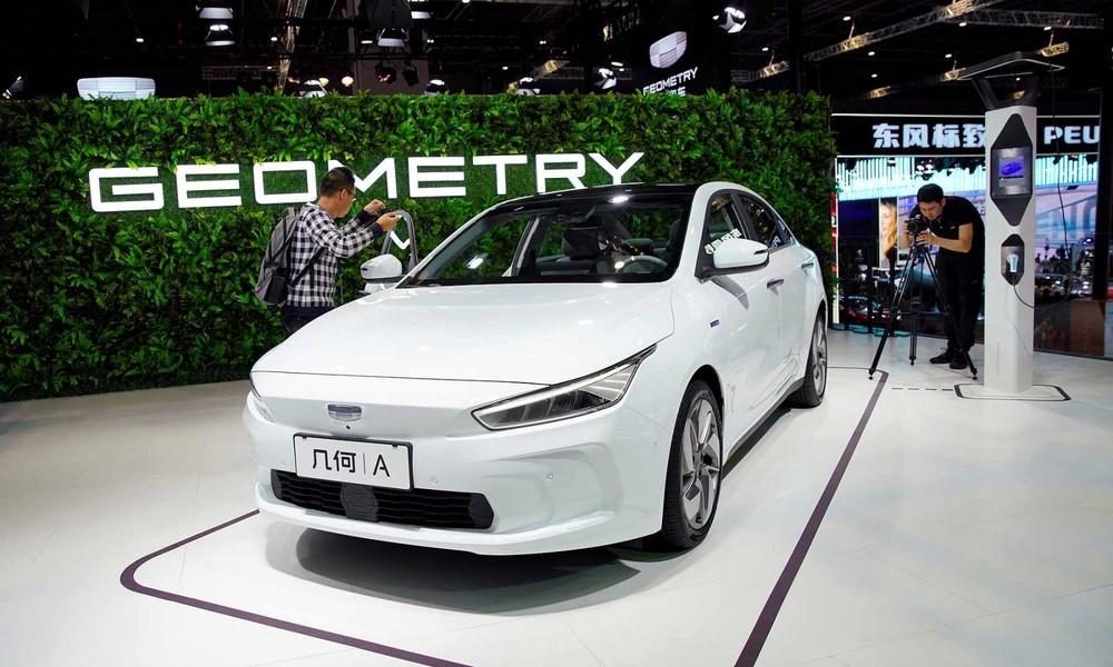 Geometry là thương hiệu con chuyên về xe điện của tập đoàn Geely