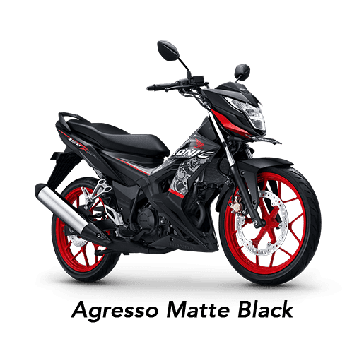 Honda Sonic 150R 2019 màu đen Agresso Matte Black