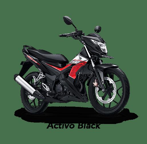 Honda Sonic 150R 2019 màu đen Activo Black