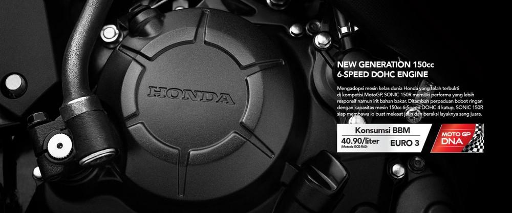 Honda Sonic 150R 2019 sở hữu khối động cơ 149,15cc