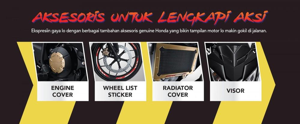 Các trang bị và phụ kiện dành riêng cho Honda Sonic 150R 2019