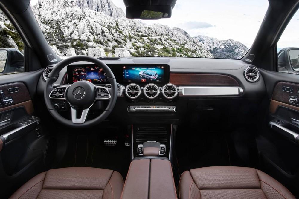 Nội thất sang trọng của Mercedes-Benz GLB Edition 1 2020