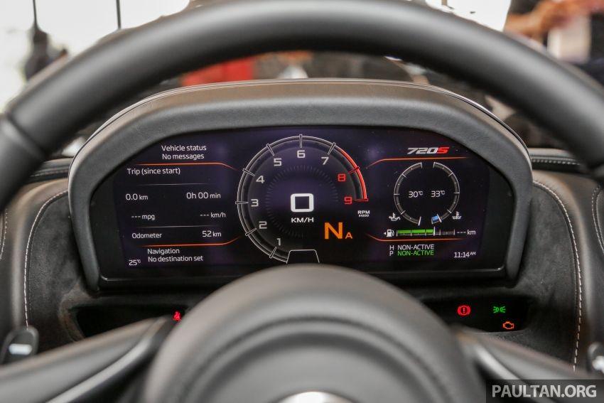 McLaren 720S Spider chỉ có thể đạt vận tốc tối đa 325 km/h khi mở mui