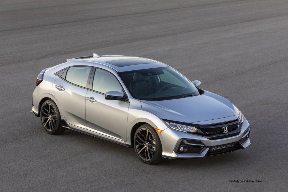 Honda Civic Hatchback 2020 ra mắt với một số cải tiến đáng kể