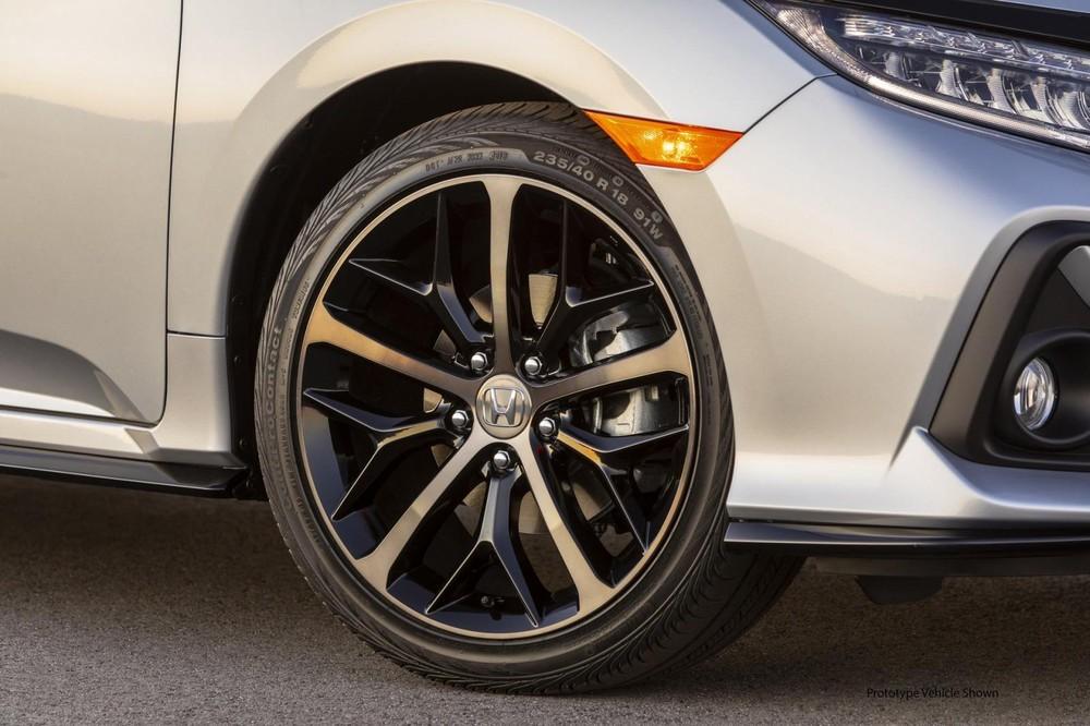 Bộ vành la-zăng mới của Honda Civic Hatchback 2020