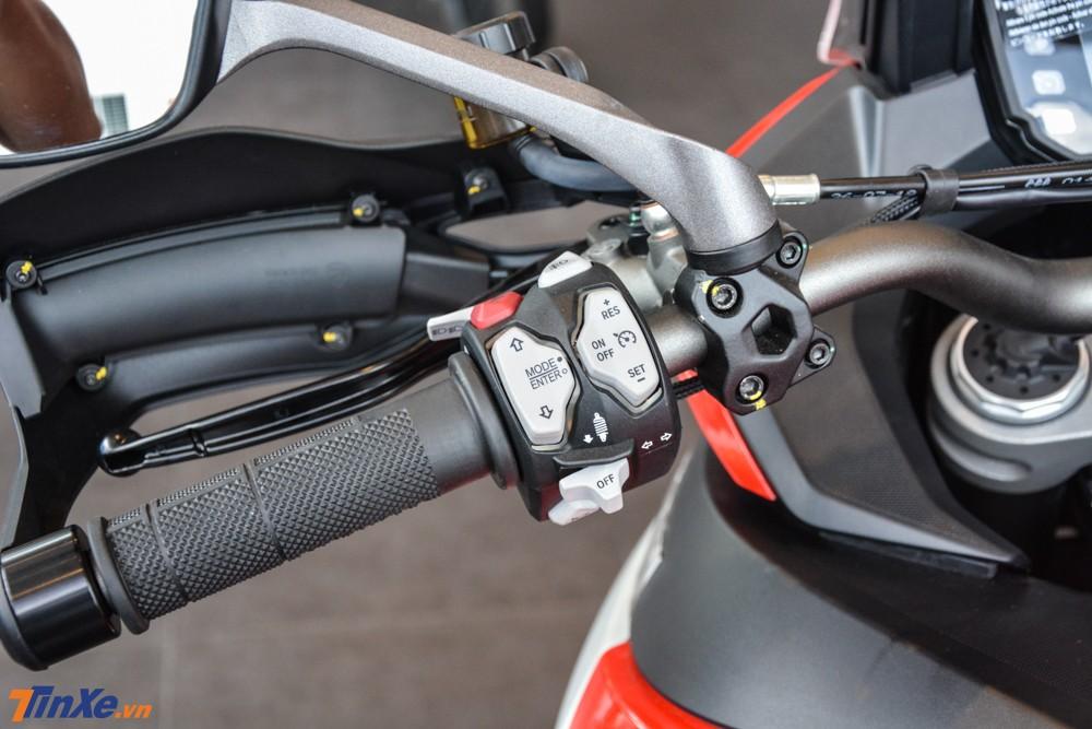 Ducati Multistrada 1260 Enduro 2019 giảm 2 mã lực ở công suất