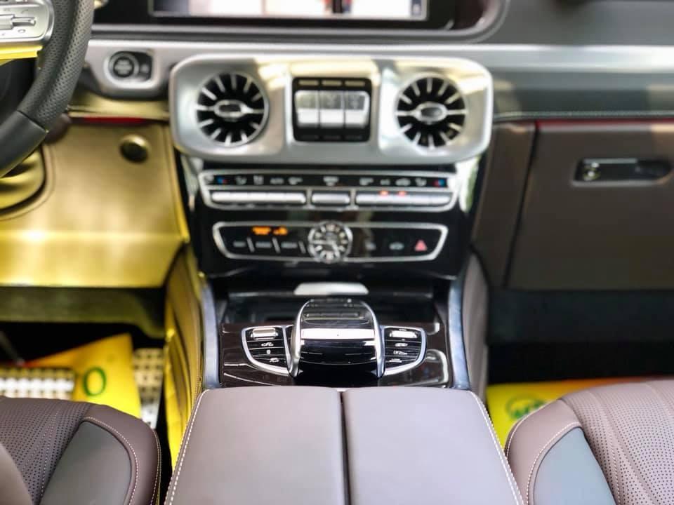 Mercedes-AMG G63 2019 sử dụng hộp số tự động AMG Speedshift Plus 9 cấp