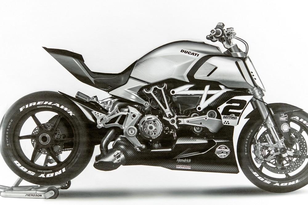 Diavel 1260 là một trong những mẫu xe Ducati mang kiểu dáng đặc biệt