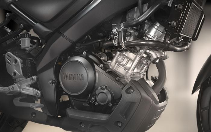 Động cơ xylanh đơn 155cc trên Yamaha XSR 155
