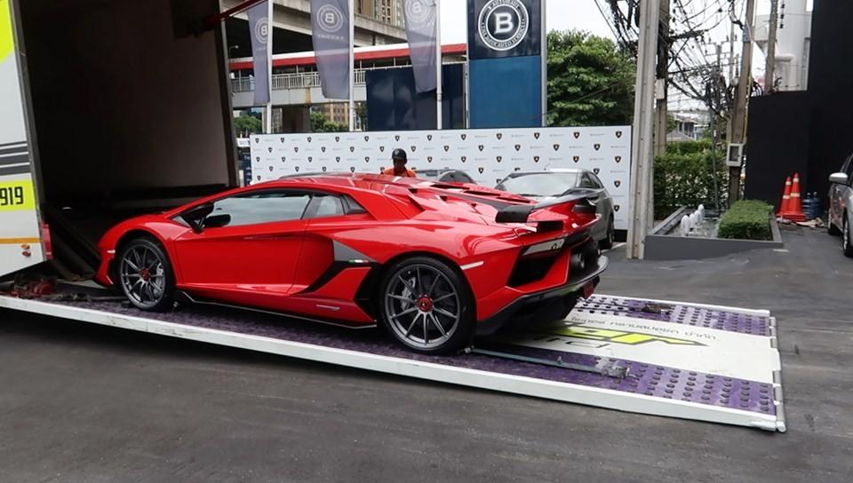 Đại gia Thái Lan tậu thêm siêu xe Lamborghini Aventador SVJ