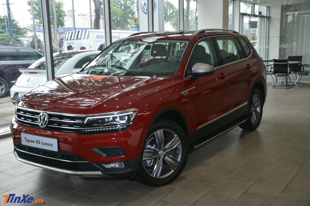Volkswagen Tiguan Allspace bản cao cấp nhất tại Việt Nam được chào bán 1,849 tỷ đồng