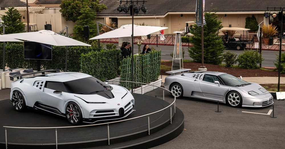 Eb110 - cảm hứng thiết kế của Bugatti Centodieci - cũng góp mặt trong sự kiện