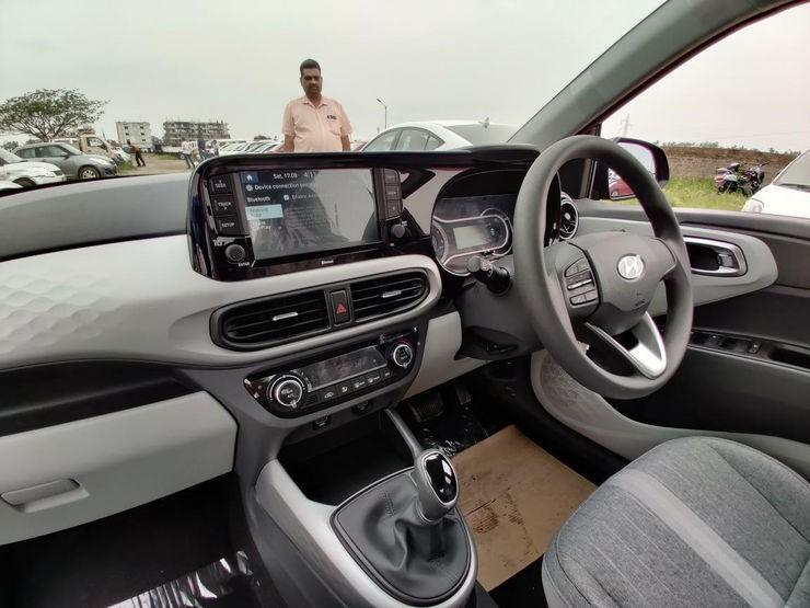 Nội thất cao cấp hơn của Hyundai Grand i10 2019 tại Ấn Độ